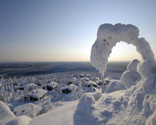 Estancia en la región con más nieve de Finlandia
