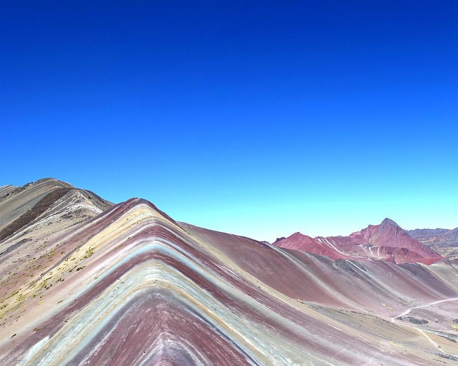Caminata de día completo desde Cusco/Perú a las Montañas del Arco Iris de Vinincunca