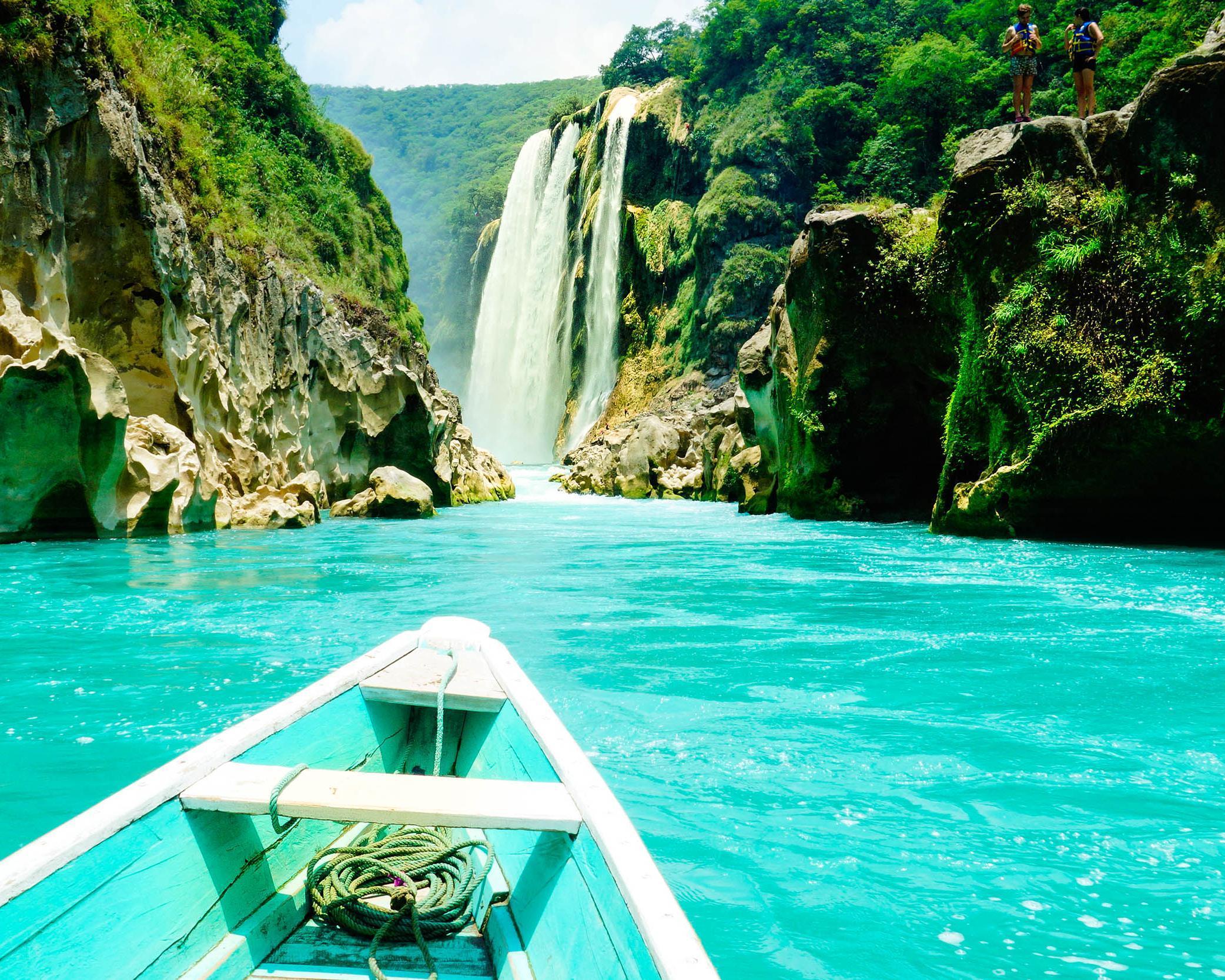 La Huasteca Potosina posee una de las maravillas naturales de México.