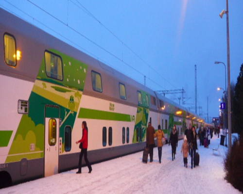 A Laponia con el Polar Express