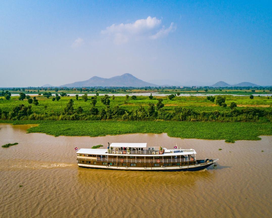 Angkor, Mekong-Kreuzfahrt von Siem Reap nach Saigon & Baden in Long Hai