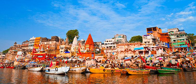 India: Triángulo de Oro + 2n en Varanasi (9D / 8N) en Media Pensión