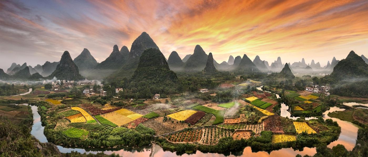 China: Pekin 3n + Xian 2n + Shangai 2n + Guilin 1n + Guangzhou 1n (9N/10D)