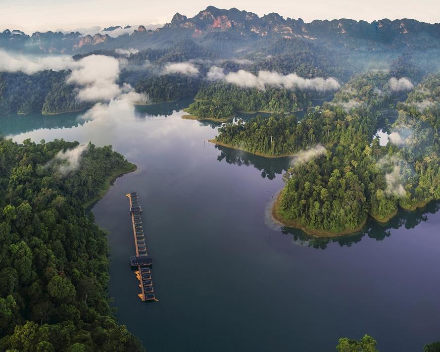 Elephant Hills Regenwald & Schwimmendes Camp