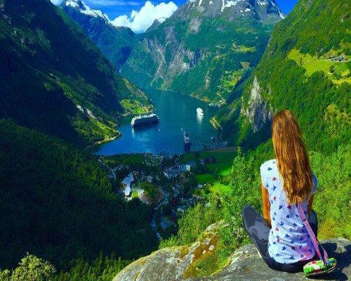 Noruega en Tren y Barco