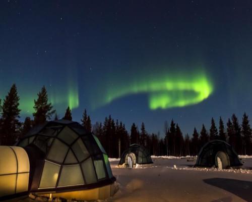 Aventura en los Iglús de Laponia