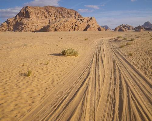 Jordania, Castillos del Desierto