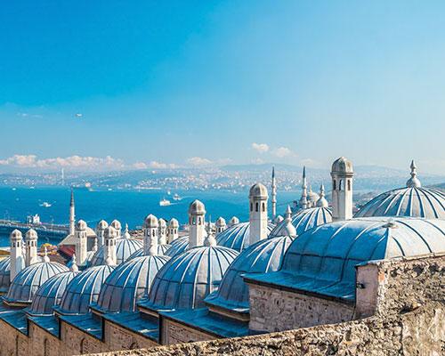 Istanbul, Blaue Reise Kemer & Baden in Kemer