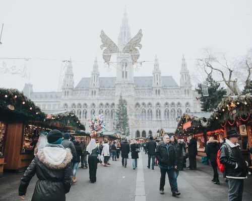 Mercadillo Navideño en Viena