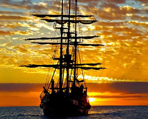 * LOS CABOS: Navega en un barco pirata en Familia *