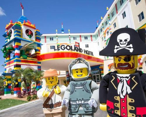 Fin de semana en el parque Legoland en Windsor