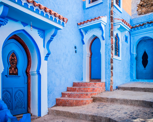 Travel through Morocco