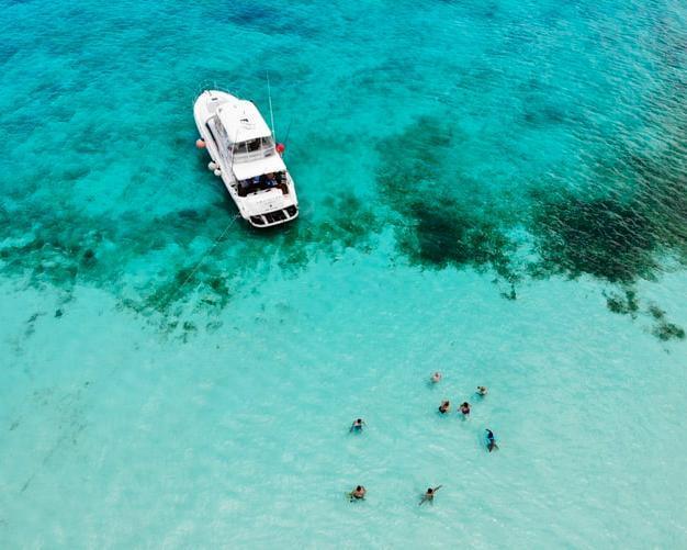 Cancún, cocktail de playa y cultura