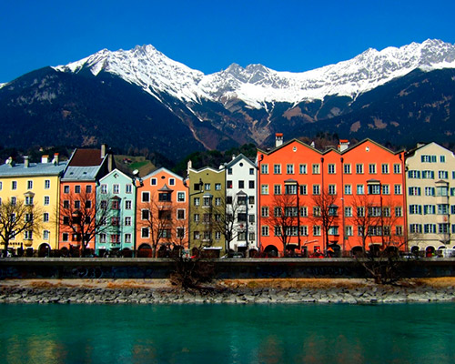 Innsbruck with Swarovski Crystal Worlds