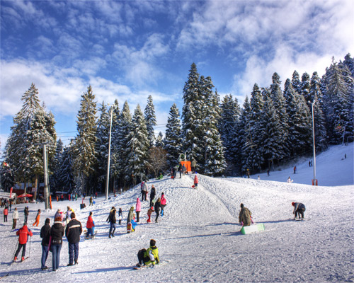 Sightseeing in Sofia & Wintersport in Borovets
