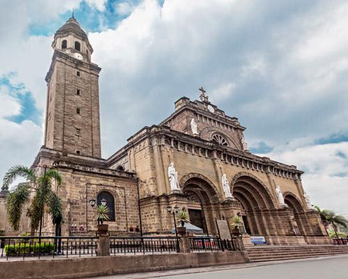 Catedral basílica de Manila, Filipinas