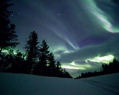 Auroras Boreales en Rovaniemi