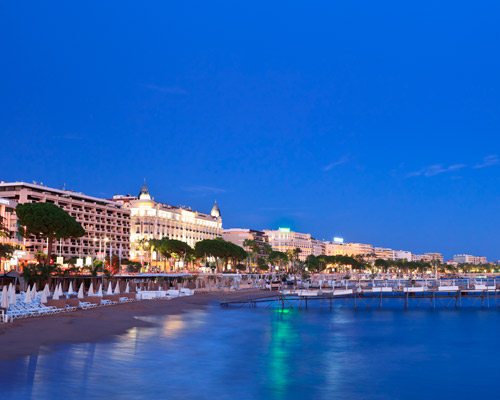 2 nights Cannes with dinner in Monte Carlo: Luxe hotel & flight from Ljubljana