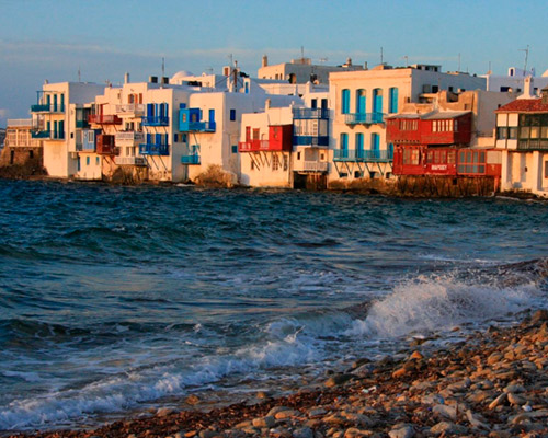 Míkonosz, Görögország szállással és repülővel