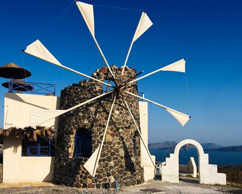 Atenas, Santorini y Mykonos