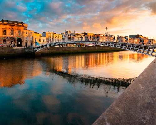 Dublin + City Walking Tour