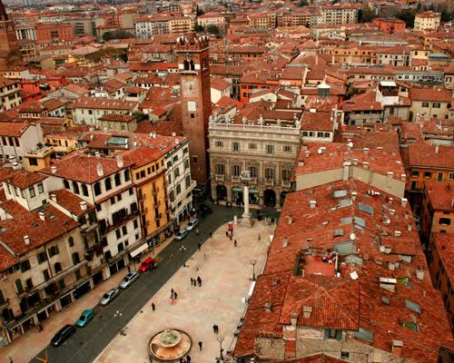 Verona con Lago di Garda