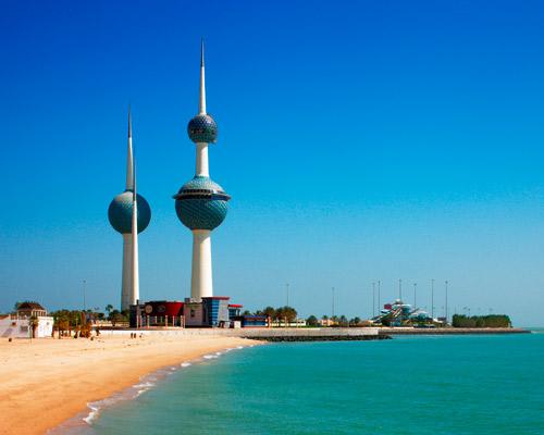 5 Days. Kuwait (Hotel 3* + Flights: Riyadh/Kuwait/Riyadh)