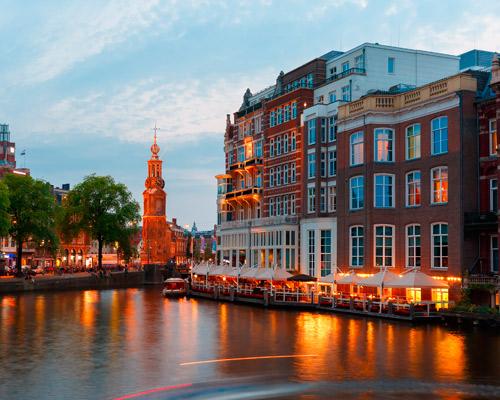 Bruxelas, Amsterdão e Hamburgo