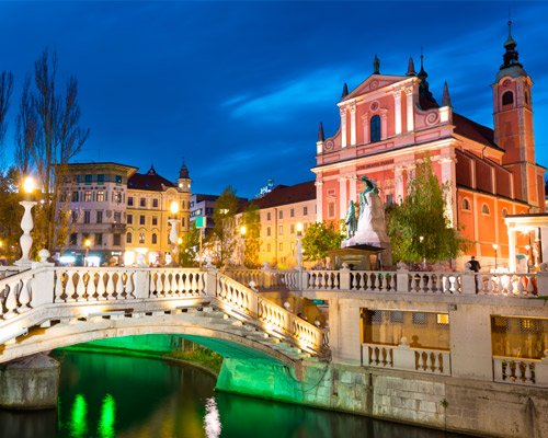 6-Day Christmas Faritayle in Ljubljana and Bled