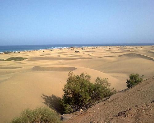 Maspalomas en Gran Canaria