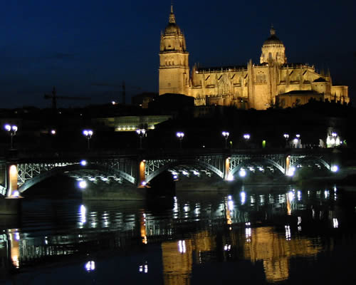 Ein Wochenende in Salamanca