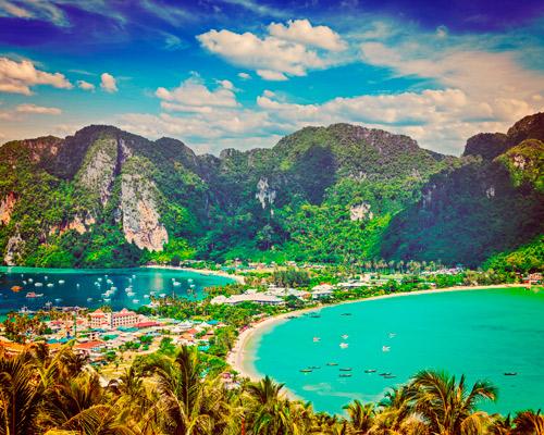 Bangkok, Krabi, Phi Phi y Phuket