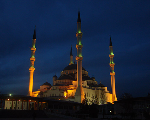 Októberi látogatás Törökországban, Ankarában, 4 csillagos szállodában, repjeggyel