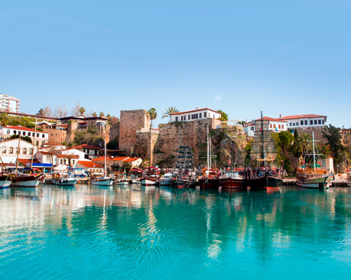 12 Days. Antalya 4* I Istanbul 4* + Air Tickets from Riyadh + Transfers: airport>hotel>airport