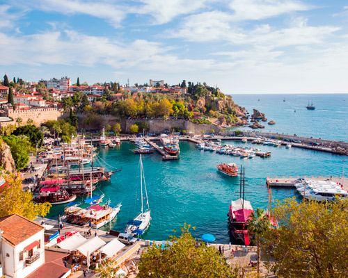 11 Days. Antalya 5* I Istanbul 4* + Air Tickets from Riyadh + Transfers: airport>hotel>airport
