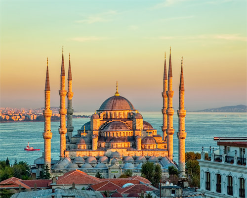 5 Days. Istanbul 3* (with flights - from Amman)