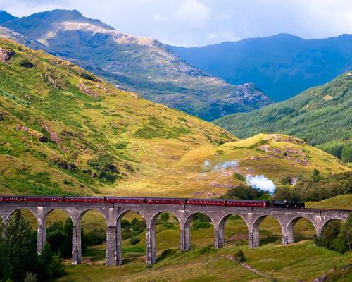 Schottland Mietwagenrundreise - zwischen Glens und Lochs die raue Schönheit Schottlands erkunden