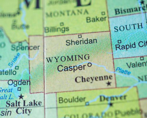 Estados Unidos de America Casper WY