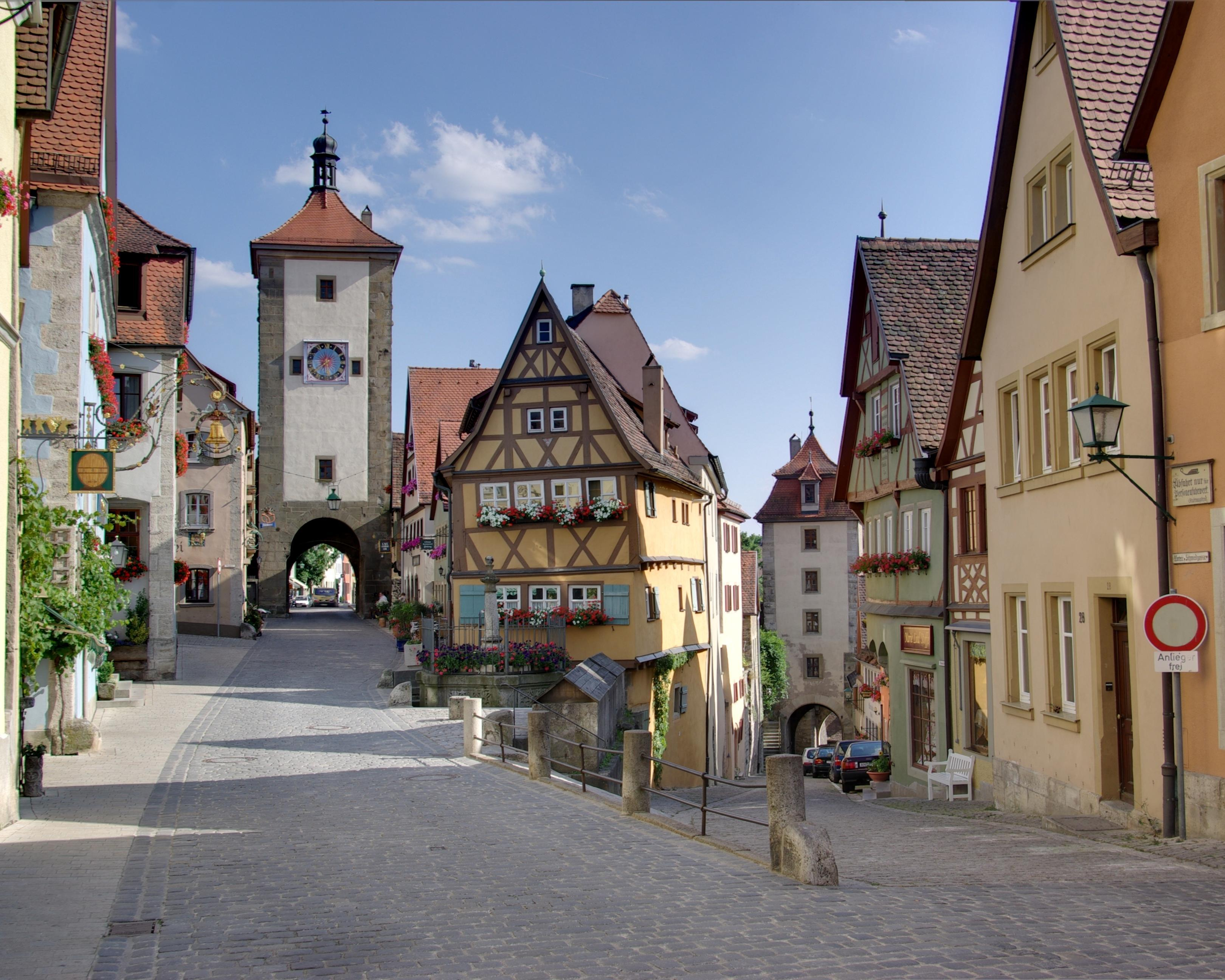 Alemania Rothenburg ob der Tauber