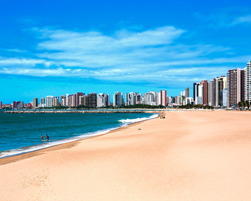 Rio de Janeiro & Strandurlaub in Fortaleza