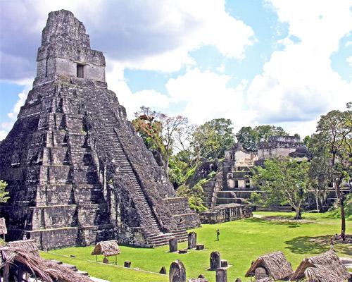 Ruinas de Tikal, Guatemala