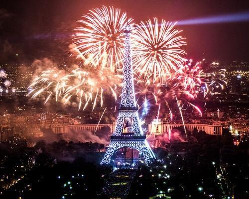Año Nuevo en París, Francia!