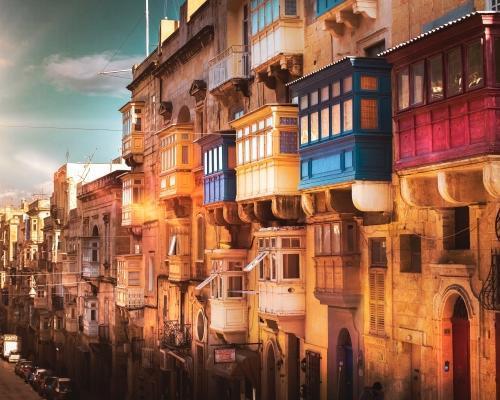 Budapest-Róma-Málta körutazás
