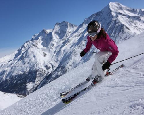 Esquí en Saas Fee