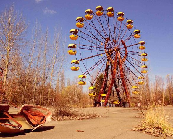 Viaje a Chernobyl, esceranio real de la serie