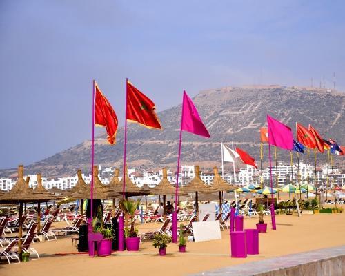 4 éj Agadir, Marokkó 4 csillagos hotellel, bécsi indulással