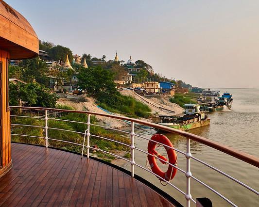 """Privatrundreise """"Myanmar zu Lande und zu Wasser"""" inklusive Flusskreuzfahrt von Mandalay nach Bagan mit der RV Paukan"""