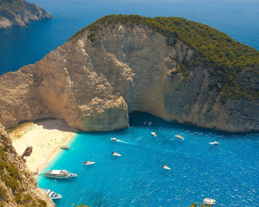 Egy hét Zakynthos, Görögország májusban bécsi indulással, szállással