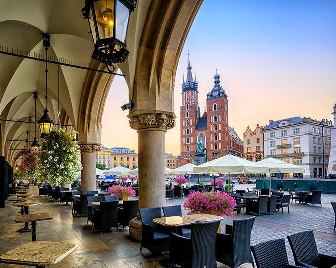 8 Days. Poland: Krakow 4* (3 Nights) + Warsaw 3* (4 Nights)  from Amman with Ryanair