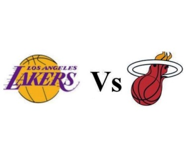 Los Angeles Lakers Vs Miami Heat March 16 From Us 1 422
